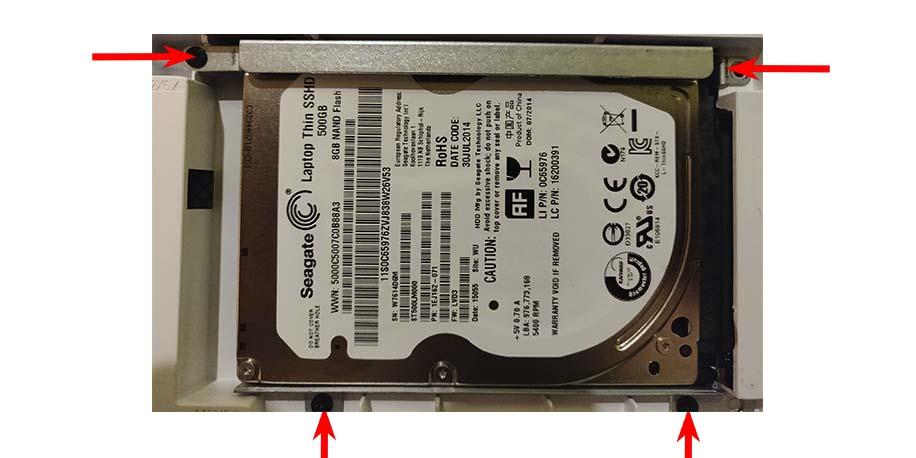 Desmontar disco duro lenovo z50-75